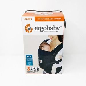 Ergobaby Black 3 Position Baby Carrier NWT